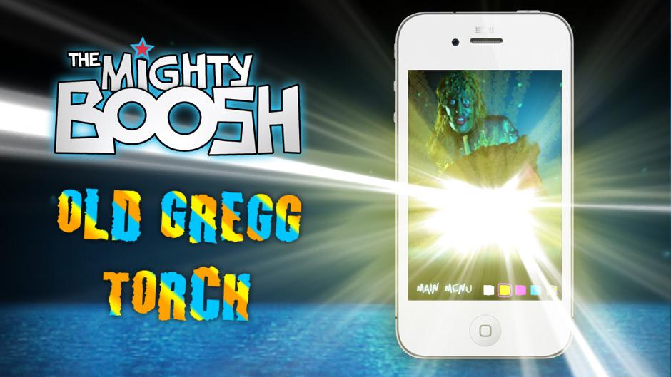 Mighty Boosh Old Gregg Island Wall Entertainment