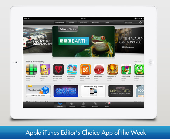 Apple iTunes Editor's Choice App of the Week