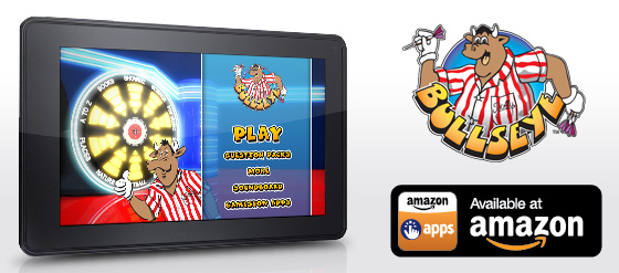 Bullseye Gameshow App released on Amazon Kindle